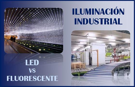 Iluminacion led para instalaciones industriales no - Lamparas fluorescentes led ...